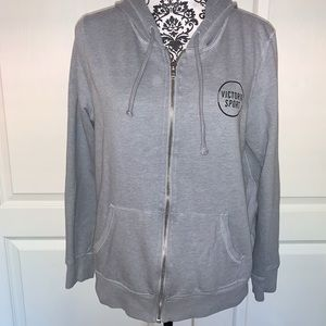Victoria's Secret Sport Zipped Hoodie SIZE LARGE